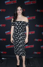 JEANINE MASON at Roswell, New Mexico Panel at New York Comic-con 10/06/2018