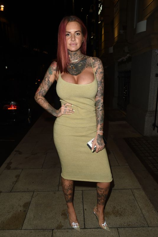 JEMMA LUCY at Rosso Restaurant in Manchester 10/11/2018
