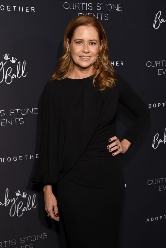 JENNA FISCHER at Adopt Together Baby Ball Gala in Los Angeles 10/19/2018