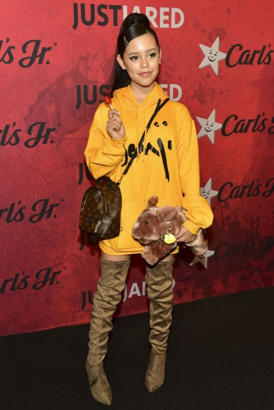 JENNA ORTEGA at Just Jared Halloween Party in West Hollywood 01/27/2018