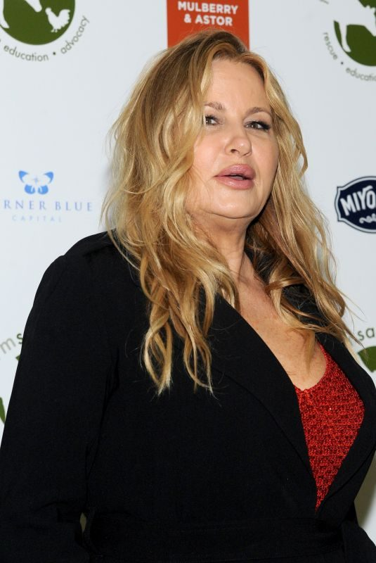 JENNIFER COOLIDGE at Farm Sanctuary on the Hudson Gala in New York 10/04/2018