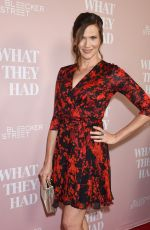 JENNIFER ROBIDEAU at What They Had Screening in Los Angeles 10/09/2018