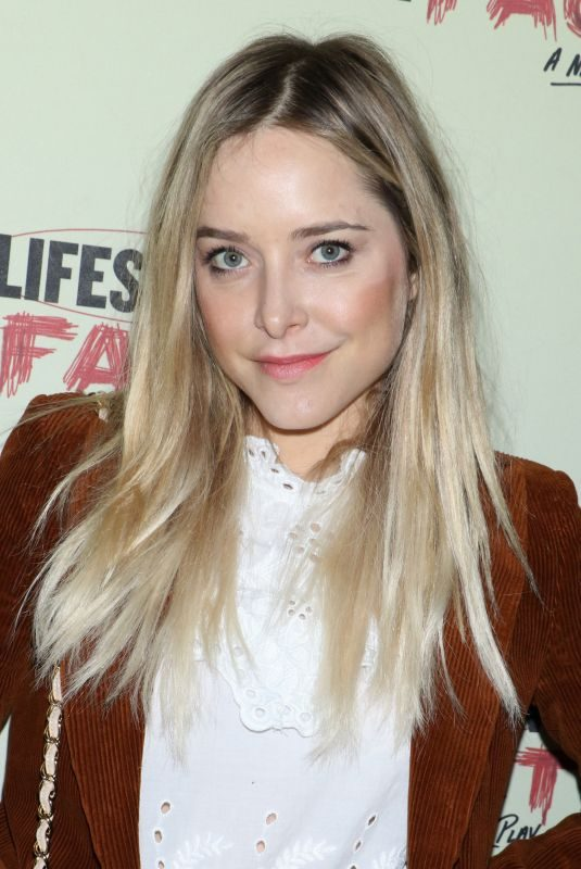 JENNY MOLLEN at Lifespan of a Fact Broadway Opening Night in New York 10/18/2018