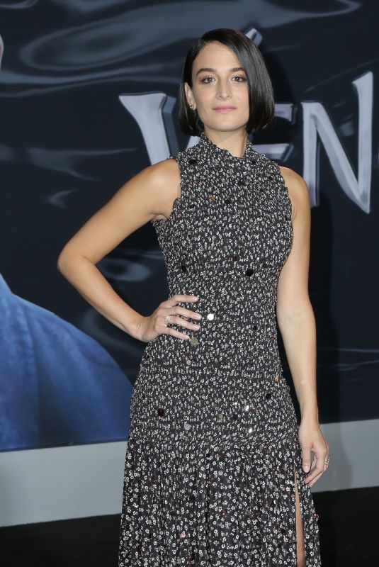 JENNY SLATE at Venom Premiere in Los Angeles 10/01/2018