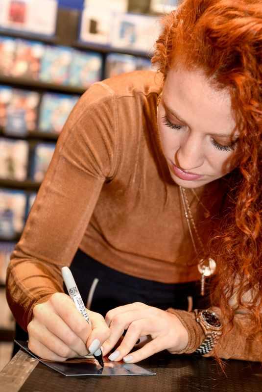 JESS GLYNNE at Always in Between Album Signing in Manchester 10/13/2018