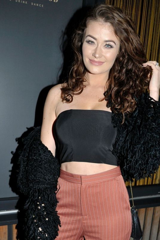JESS IMPIAZZI Night Out in Manchester 10/13/2018