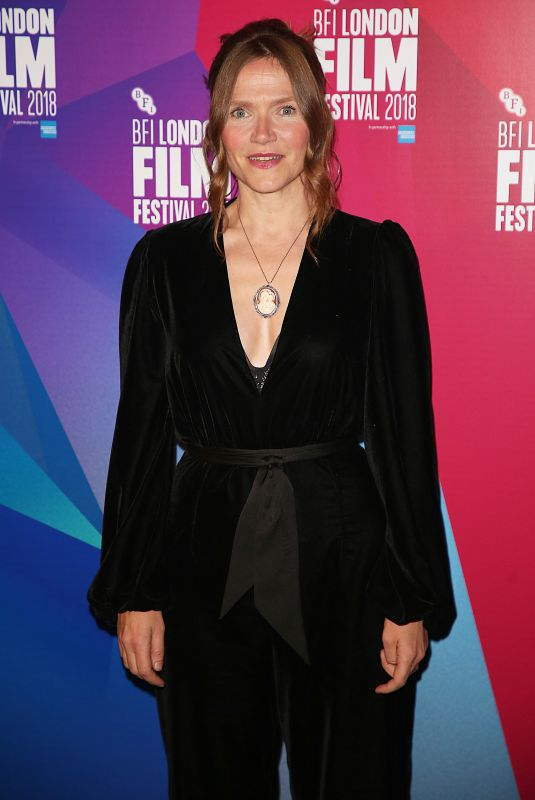 JESSICA HYNES at The Fight Premiere at BFI London Film Festival 10/17/2018