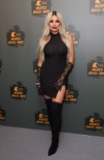 JESSICA WRIGHT at Kiss Haunted House Party in London 10/26/2018