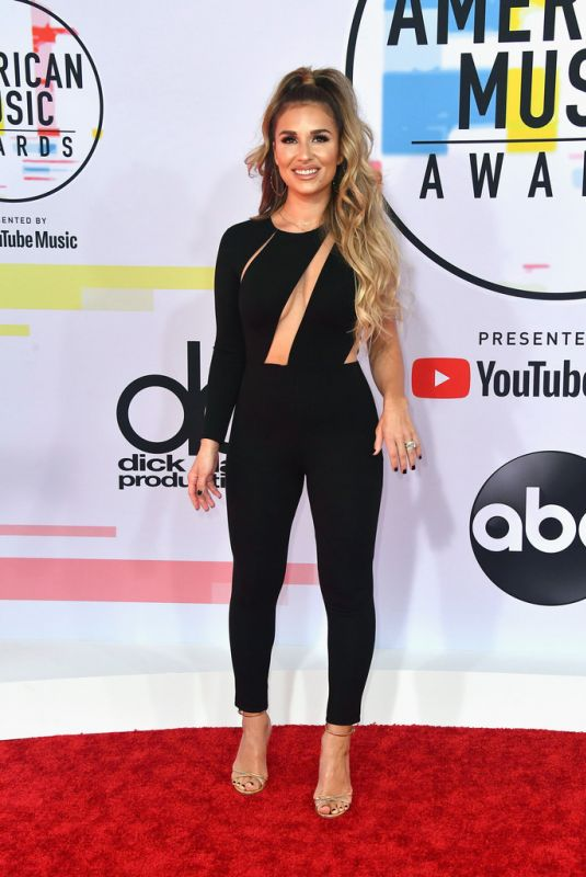 JESSIE JAMES at American Music Awards in Los Angeles 10/09/2018