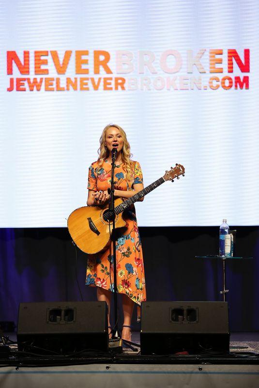 JEWEL KILCHER Performs at Wellness Your Way Festival in Cincinnati 10/06/2018