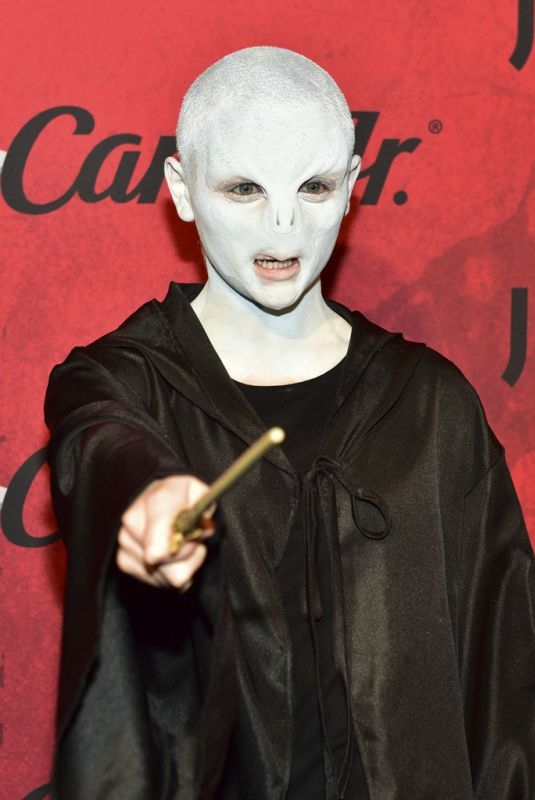 JOEY KING at Just Jared Halloween Party in West Hollywood 01/27/2018