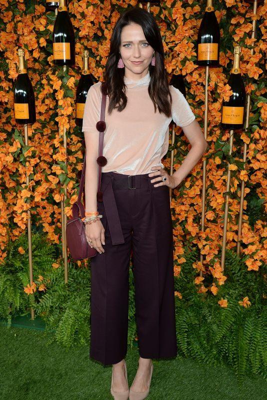JOHANNA BRADDY at 2018 Veuve Clicquot Polo Classic in Los Angeles 10/06/2018