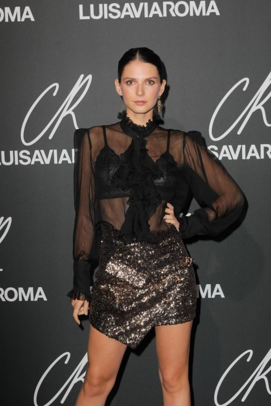 JOSEPHINE JAPY at CR Fashion Book Issue 13 Launch in Paris 10/01/2018