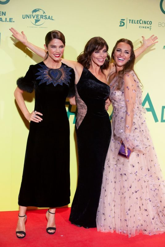 JUANA ACOSTA, MARIBEL VERDU and PAULA ECHEVARRIA at Ola De Crimenes Premiere in Madrid 10/03/2018
