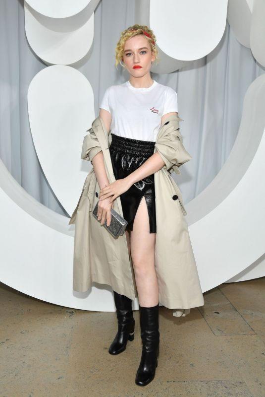 JULIA GARNER at Miu Miu Fashion Show in Paris 10/02/2018