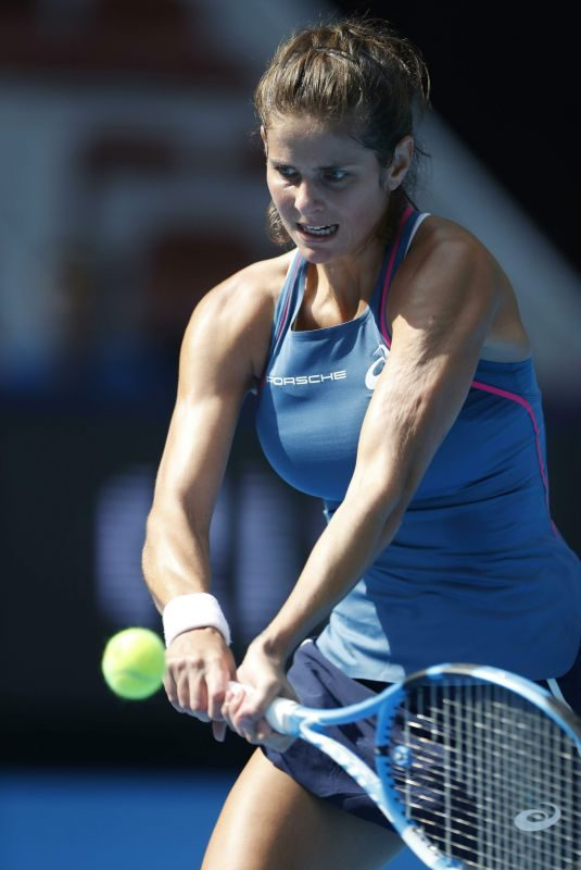 JULIA GOERGES at China Open Tennis Tournament in Beijing 10/04/2018
