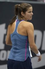 JULIA GOERGES at WTA Upper Austria Ladies Tennins Tournament in Linz 10/10/2018