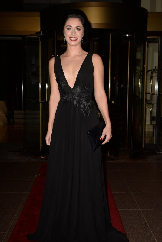 JULIA GOULDING at Manchester Fashion Festival at Midland Hotel 10/13/2018