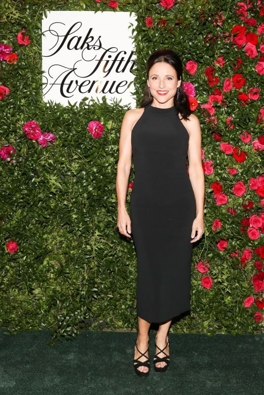 JULIA LOUIS-DREYFUS at 20th Anniversary of Key to the Cure in New York 10/18/2018