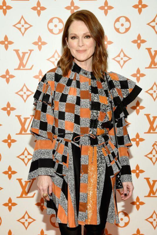 JULIANNE MOORE at Louis Vuitton x Grace Coddington Event in New York 10/25/2018