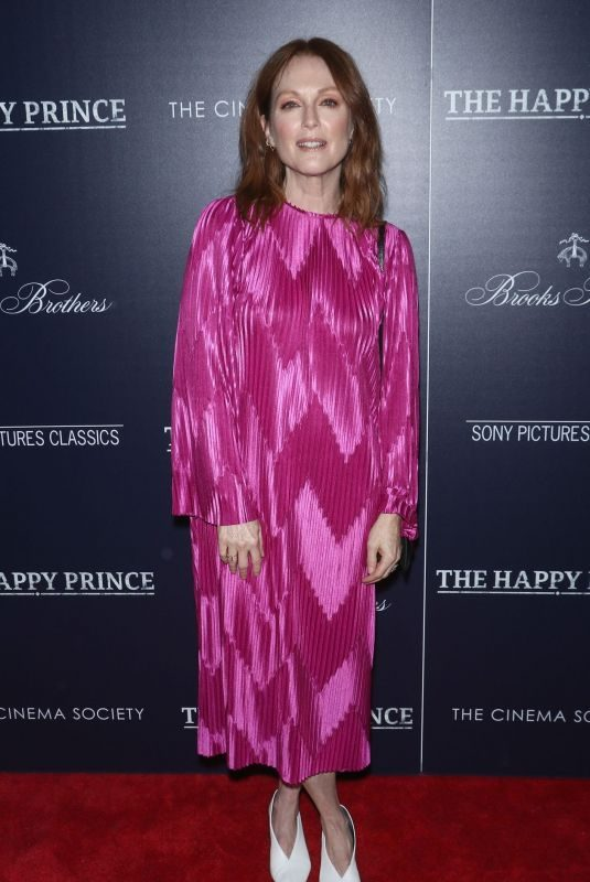 JULIANNE MOORE at The Happy Prince Screening in New York 10/08/2018