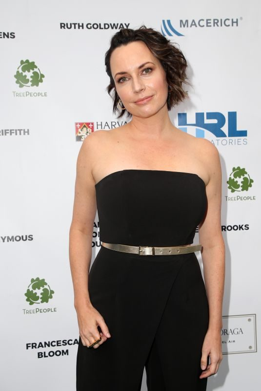 JULIE ANN EMERY at An Evening Under the Harvest Moon Gala at Coldwater Canyon Park 10/06/2018