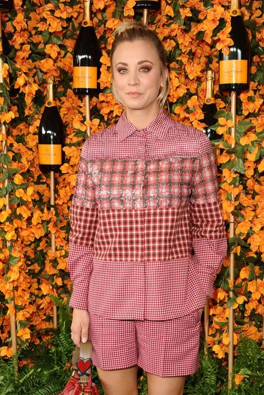 KALEY CUOCO at 2018 Veuve Clicquot Polo Classic in Los Angeles 10/06/2018