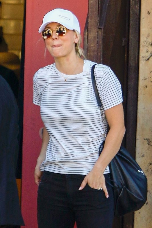 KALEY CUOCO Out for Lunch in Studio City 10/26/2018