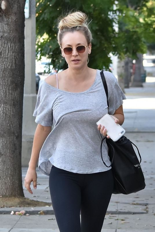 KALEY CUOCO Out in Sherman Oaks 10/25/2018