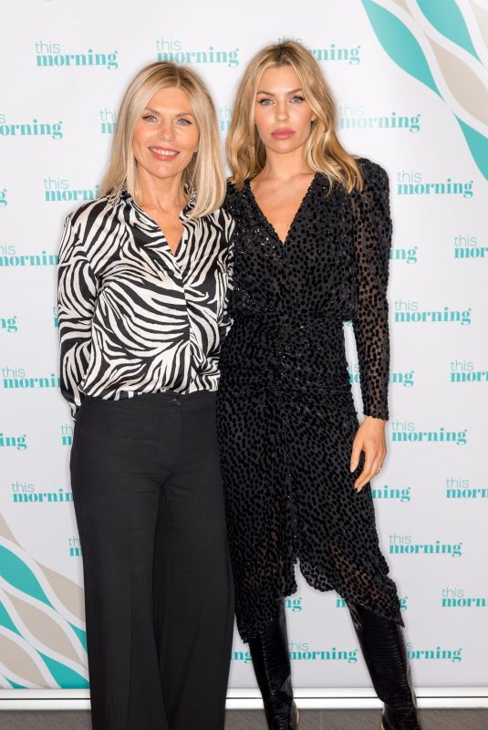 KAREN SULLIVAN and ABIGAIL CLANCY at This Morning TV Show in London 10/24/2018