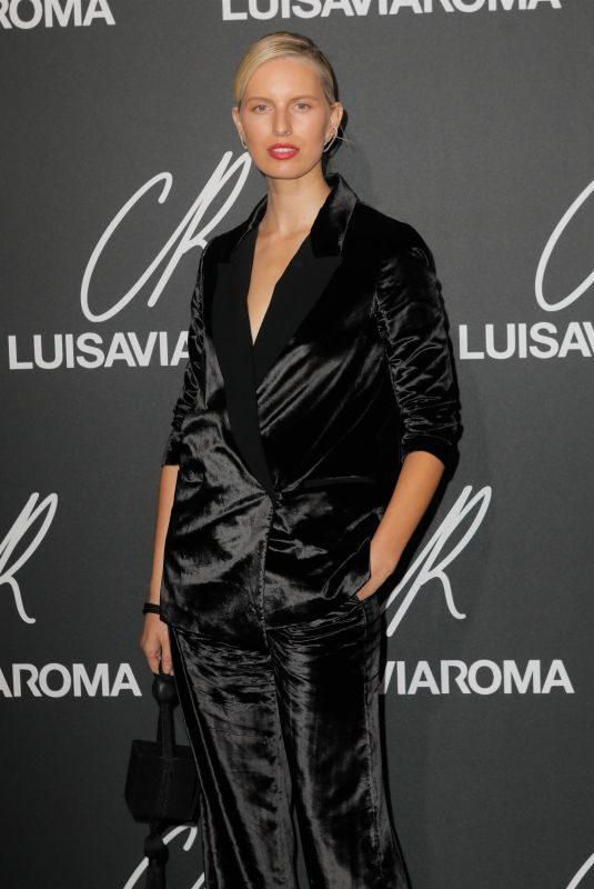 KAROLINA KURKOVA at CR Fashion Book Issue 13 Launch in Paris 10/01/2018