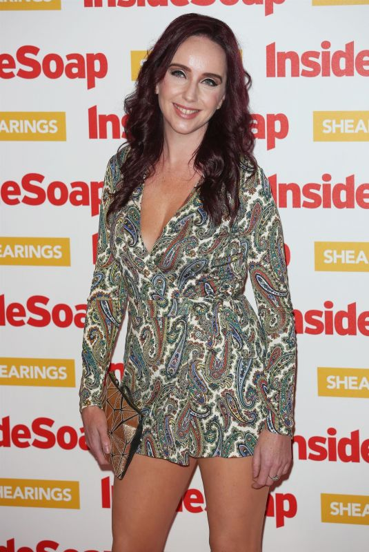 KATE OATES at Inside Soap Awards 2018 in London 10/22/2018