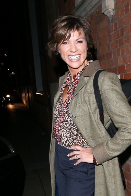 KATE SILVERTON Leaves Strictly Come Dancing: It Takes Two Show in London 10/18/2018