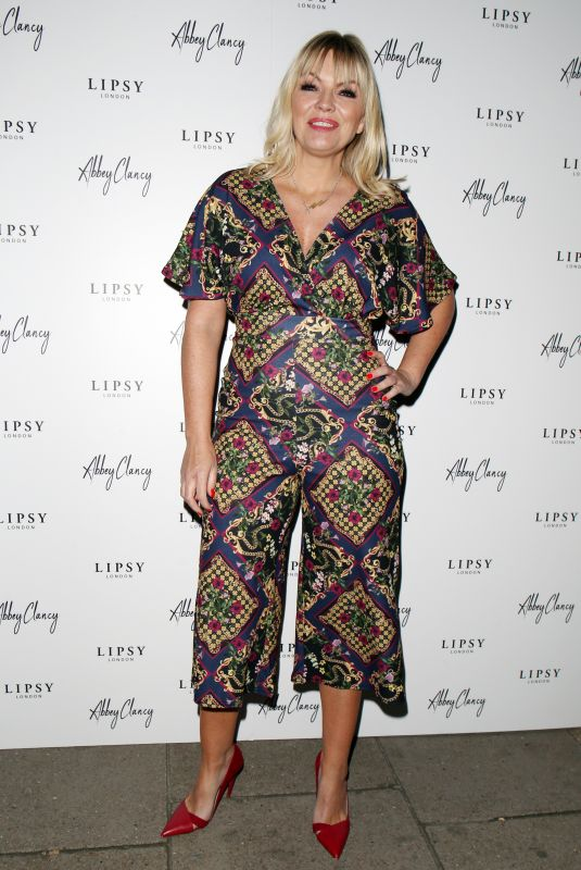 KATE THORNTON at Lipsy x Abbey Clancy Launch in London 10/24/2018