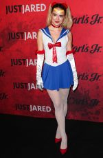 KATHERINE HUGHES at Just Jared Halloween Party in West Hollywood 10/27/2018