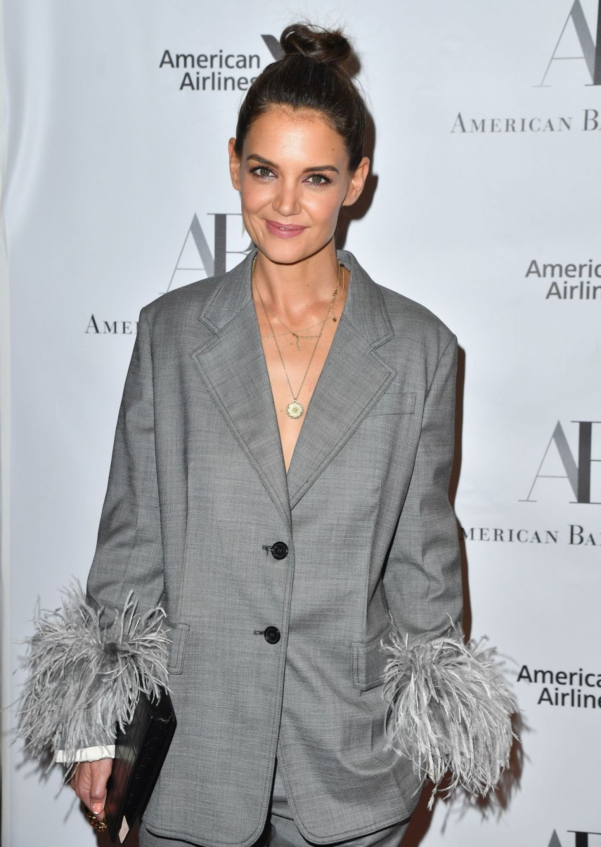KATIE HOLMES at American Ballet Theatre 2018 Fall Gala in New York 10/17/