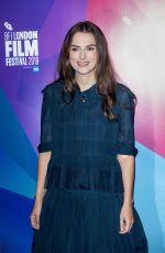 KEIRA KNIGHTLEY at Screen Talks with Keira Knightley at BFI London Film Festival 10/12/2018