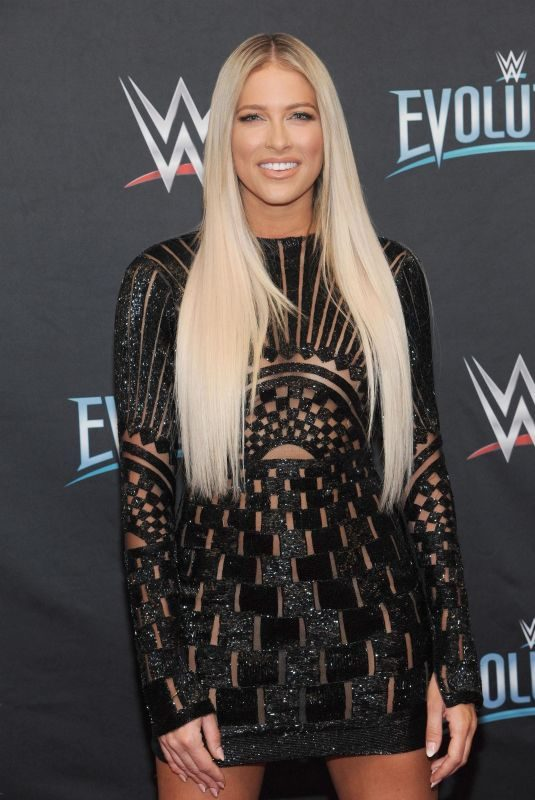 KELLY KELLY at WWE's First Ever All-women's Event Evolution in Uniondale 10/28/2018