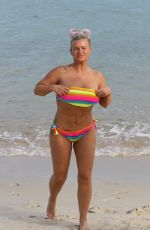 KERRY KATONA in Bikini at a Beach in Thailand 10/18/2018