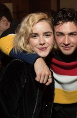 KIERNAN SHIPKA at Chilling Adventures of Sabrina Special Preview in Vancouver 10/27/2018