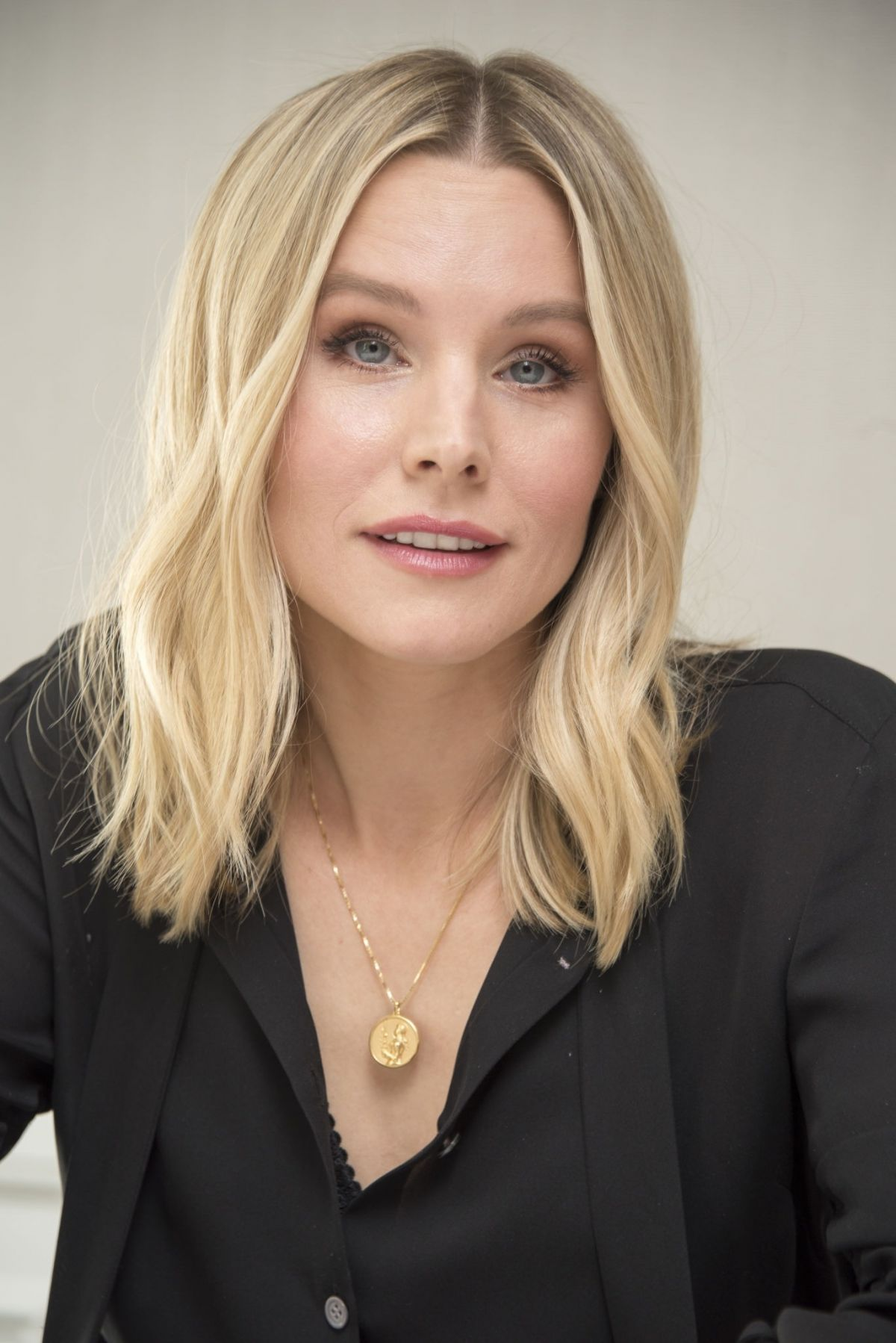 KRISTEN BELL at The Good Place Press Conference in Hollywood