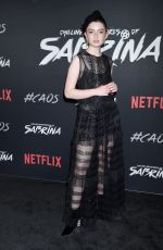 LACHLAN WATSON at Chilling Adventures of Sabrina Premiere in Hollywood 10/19/2018
