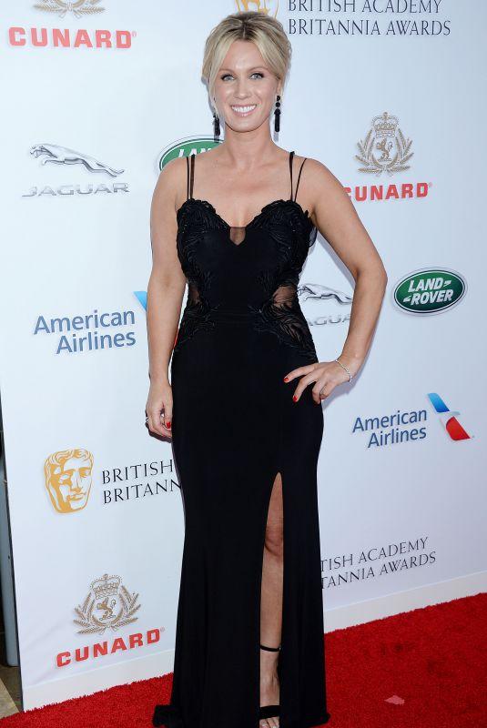 LARA CLEAR at Britannia Awards 2018 in Beverly HIlls 10/26/2018