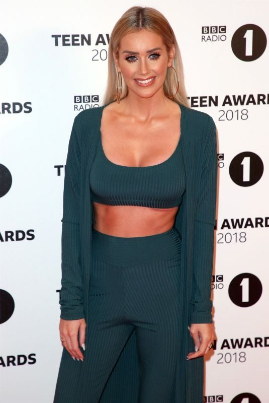 LAURA ANDERSON at BBC Radio 1 Teen Awards in London 10/21/2018