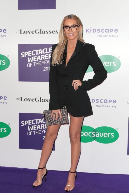 LAURA ANDERSON at Specsavers Spectacle Wearer of the Year Party in London 10/24/2018
