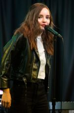 LAUREN MAYBERRY Performs at Radio 104.5 in Bala Cynwyd 10/19/2018