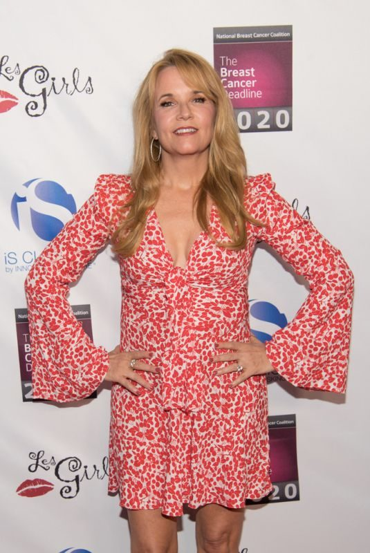 LEA THOMPSON at National Breast Cancer Coalition's Les Girls Cabaret in Los Angeles 10/07/2018