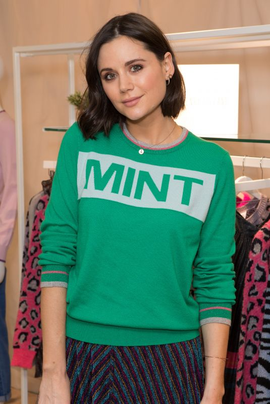 LILAH PARSONS at H! by Henry Holland Knitwear Launch in London 10/08/2018
