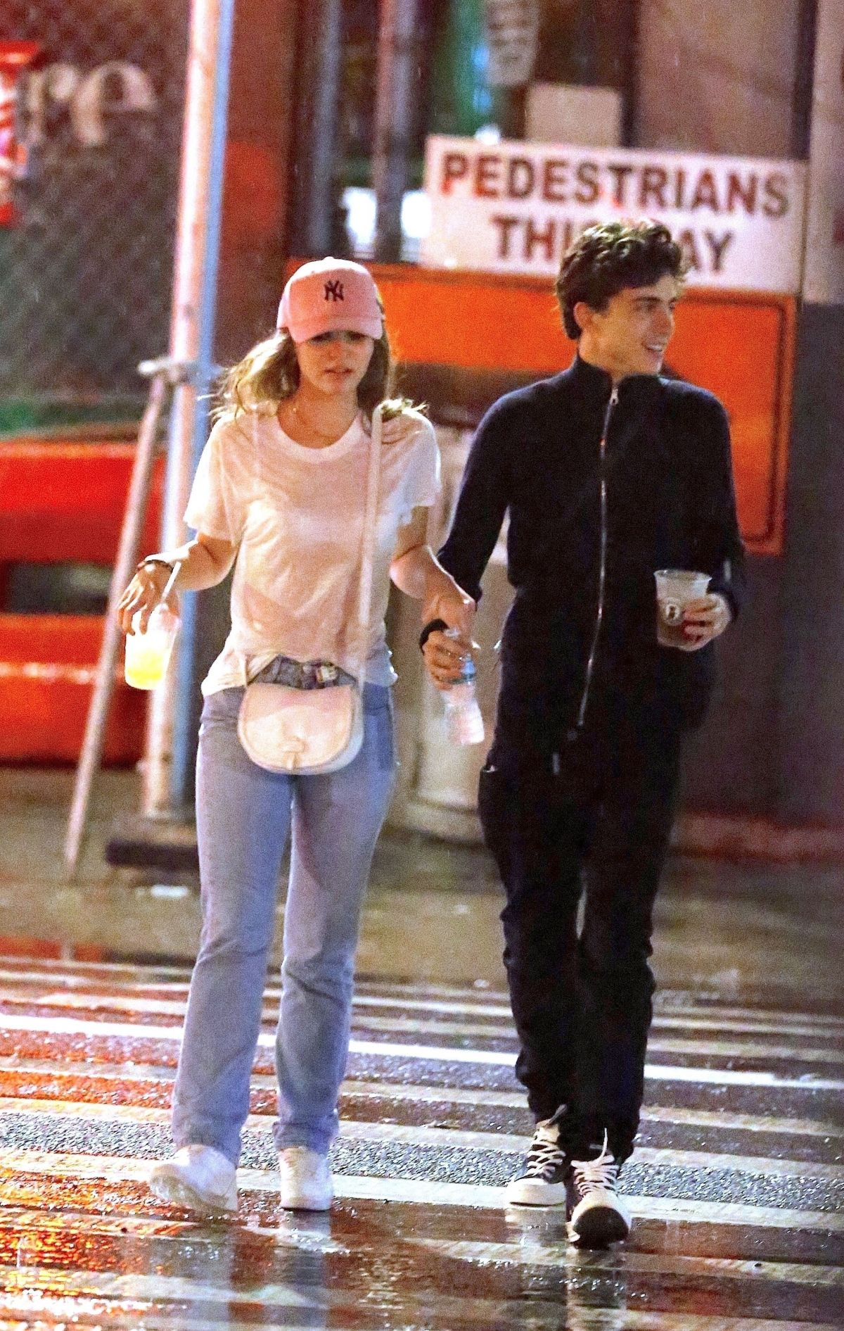 Lily Rose Depp And Timothee Chalamet Out In New York 10 20 2018 Hawtcelebs
