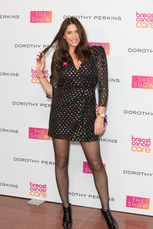 LISA SNOWDON at Breast Cancer Care Fashion Show in London 10/04/2018